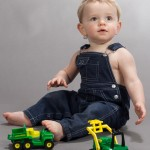 Paul - Toddler with Trucks